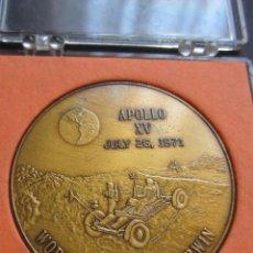 Medallas temáticas: MEDALLA APOLO XV. 1971.. Lote 52395973