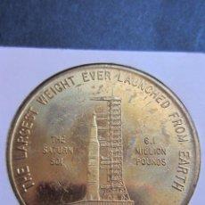 Medallas temáticas: APOLLO SATURN.MEDALLA 1967.. Lote 52396066
