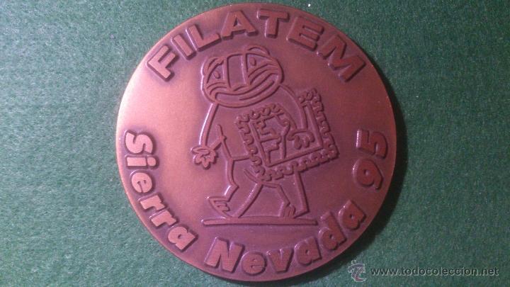 MEDALLA FILATEM , SIERRA NEVADA 95, DE GRAVARTE, LISBOA, PORTUGAL (Numismática - Medallería - Temática)