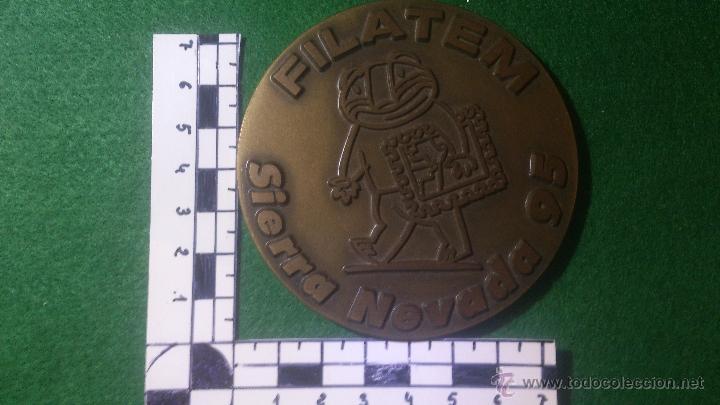Medallas temáticas: MEDALLA FILATEM , SIERRA NEVADA 95, DE GRAVARTE, LISBOA, PORTUGAL - Foto 2 - 52588384
