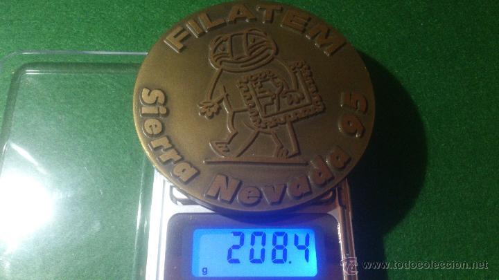 Medallas temáticas: MEDALLA FILATEM , SIERRA NEVADA 95, DE GRAVARTE, LISBOA, PORTUGAL - Foto 4 - 52588384