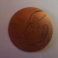 Medallas temáticas: MEDALLA SUBIRACHS 1980 NOMBRAMIENTO HIJO ADOPTIVO- SALVADOR ESPRIU-COBRE-. Lote 52676175