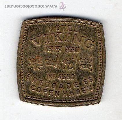 Medallas temáticas: Hotel Viking. Copenague. Dinamarca. - Foto 2 - 52700578