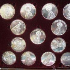 Medallas temáticas: 13 VIRGENES DE ASTURIAS. Lote 52816378