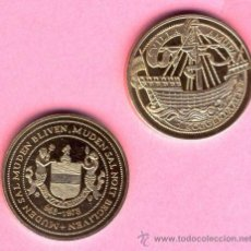 Medallas temáticas: HOLANDA MEDALLA CONMEMORATIVA 1025 AÑOS DE LA CIUDAD DE MUIDEN- TEMATICA BARCOS- VELEROS . Lote 52928030