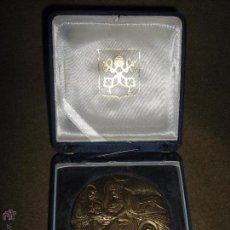 Medallas temáticas: GRAN MEDALLA COMMEMORATIVA HOMENAJE A GIOTTO - MIDE 6 CM - PESO APROX 120 GR - FIRMADA. BODINI. Lote 53058712