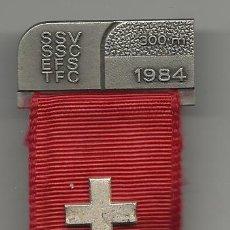 Medallas temáticas: MEDALLA MILITAR SUIZA DE 1984. Lote 53078826