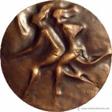 Medallas temáticas: F.N.M.T. MEDALLA JUNTA NACIONAL DE EDUCACIÓN FISICA. PREMIO NACIONAL 1970. 81 MM. Lote 52439187