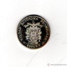 Medallas temáticas: MEDALLA DE MELILLA. V CENTENARIO 1497/1997, PLATA. Lote 53331294