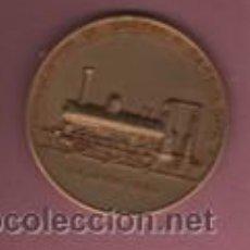 Medallas temáticas: INTERESANTE MEDALLA CON SU CAJA ORIGINAL PRIMER CENTENARIO FERROCARRIL DE SARRIA BARCELONA 1963. Lote 53609187