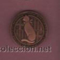 Medallas temáticas: MEDALLA DE LA REBOTIGA D,EN PITARRA BRESSOL DEL TEATRE CATALÁ 1º CENTENARI RESTAURANT 1890 - 1990. Lote 53684756