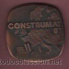 Medallas temáticas: MEDALLA DE CONSTRUMAT 1987 SALON INTERNACIONAL DE LA CONSTRUCCION FERIA DE BARCELONA. Lote 53685039