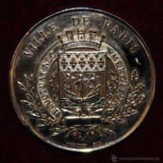 Medallas temáticas: MEDALLA EN BRONCE EXPOSITION UNIVERSELLE DE PARIS. 1878. VILLE DE PARIS. POR MASSONNET. Lote 53844273