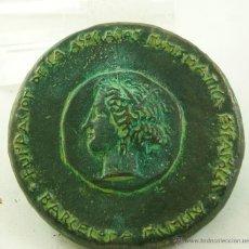 Medallas temáticas: 1ª MEDALLA FUNDACION ASOCIACION NUMISMATICA ESPAÑOLA 1954. Lote 112675178