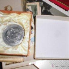 Medallas temáticas: CAJA PARA MEDALLA O MONEDA GRANDE ANTIGUA AÑOS 50. Lote 54354428