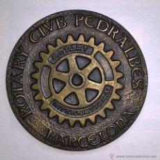 Medallas temáticas: ROTARY, CLUB PEDRALBES.. Lote 54560184