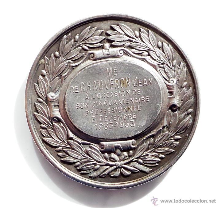 Medallas temáticas: MEDALLA FRANCESA BARREAU DE PARIS - Foto 2 - 54714434