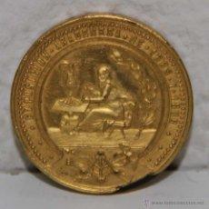 Medallas temáticas: MEDALLA DE LA EXPOSICIÓN ARAGONESA 1885 - 1886. R.S. ECONÓMICA ARAGONESA. METAL DORADO. Lote 53728415