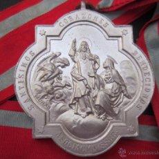 Medallas temáticas: MEDALLA ASOCIACIÓN SAGRADOS CORAZONES. 55 MM.. Lote 54905261