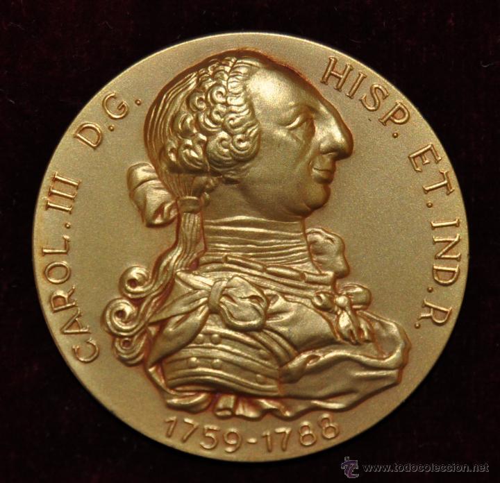 MEDALLA CONMEMORATIVAS DE LA LIBERTAD DE COMERCIO D LAS PROVINCIAS ESPAÑOLAS DE AMERICA. CALICO 1964 (Numismática - Medallería - Temática)