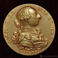 Medallas temáticas: MEDALLA CONMEMORATIVAS DE LA LIBERTAD DE COMERCIO D LAS PROVINCIAS ESPAÑOLAS DE AMERICA. CALICO 1964. Lote 55063151