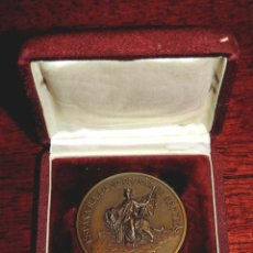 Medallas temáticas: MEDALLA ESPAÑA S.A. COMPAÑÍA NACIONAL DE SEGUROS, REALIZADA EN COBRE 50 MM, 50 ANIVERSARIO 1928-1978. Lote 55066139