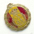 Medallas temáticas: ANTIGUA MEDALLA DEL RACE, REAL AUTOMÓVIL CLUB. AÑO 1953. Lote 52968494