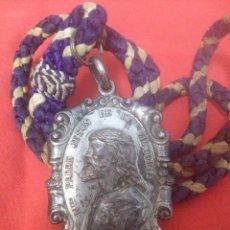 Medallas temáticas: MEDALLA CON CORDON DE LA HERMANDAD DE MARIA SANTISIMA DE LA PAZ SEMANA SANTA DE SEVILLA. Lote 98160526