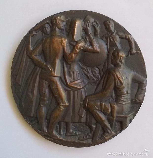 Medallas temáticas: Medalla Lotería Nacional 1969 conmemorativa 5000 sorteos, 1812-1969 - Foto 2 - 55940498