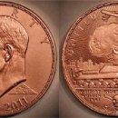 Medallas temáticas: MONEDA EISENHOWER MILITARY INDUSTRIAL COMPLEX, DANIEL CARR, USA, EDICION LIMITADA 168 PIEZAS. Lote 56391510