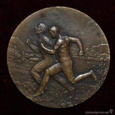 Medallas temáticas: ÉMILE ADOLPHE MONIER (FRANCIA, 1883 - 1970) MEDALLA EN BRONCE FIRMADA Y FECHADA DEL AÑO 1930. Lote 56501627