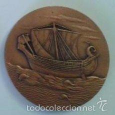 Medallas temáticas: MEDALLA INTERNACIONAL CINE NAVAL CARTAGENA 1980 COBRE 70 MM. TEMA NÁUTICO, MARÍTIMO, BARCO. Lote 56761059