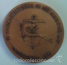 Medallas temáticas: MEDALLA INTERNACIONAL CINE NAVAL CARTAGENA 1980 COBRE 70 MM. TEMA NÁUTICO, MARÍTIMO, BARCO - Foto 2 - 56761059