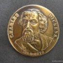 Medallas temáticas: MEDALLA CHARLES DICKENS. Lote 56798674