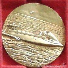 Medallas temáticas: MEDALLA OFFSHORE MOTONAUTICA 1976. COBRE 50 MM TEMA NÁUTICO MARÍTIMO, BARCO, BARCOS. Lote 56889172