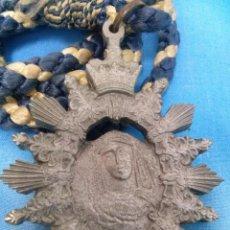 Medallas temáticas: MEDALLA CORDON DE LA CORONACION CANONICA VIRGEN DE LAS ANGUSTIAS(LOS GITANOS)SEMANA SANTA SEVILLA. Lote 56942221