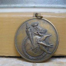 Medallas temáticas: MEDALLA CONMEMORATIVA DEL CAMPEONATO MUNDIAL DE COLOMBOFILA DE 1976 - VALENCIA. Lote 56956125