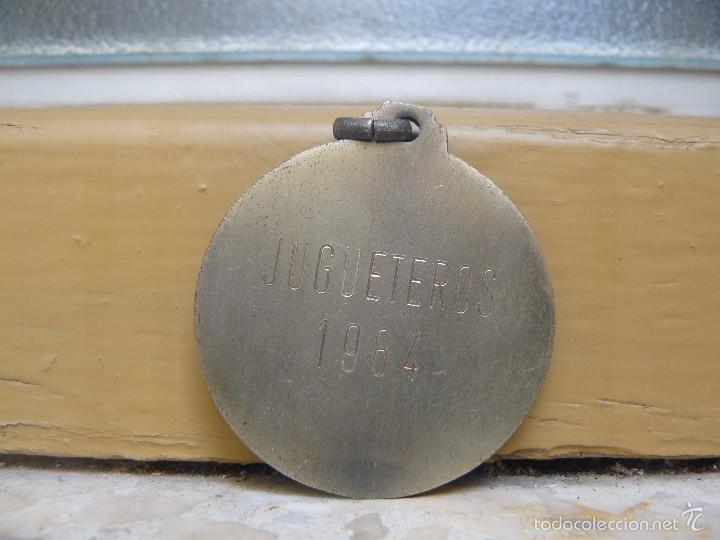 Medallas temáticas: MEDALLA JUGUETEROS 1984 - Foto 2 - 56959067