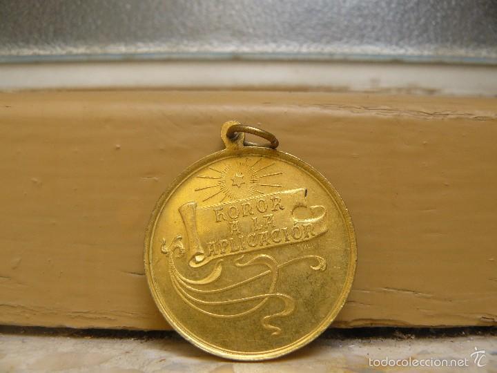 Medallas temáticas: MEDALLA MODERNISTA.- HONOR A LA APLICACION. - Foto 2 - 56959557