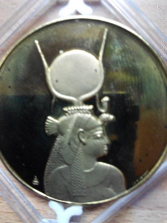MEDALLA OFICIAL UNESCO 1975 CONMEMORATIVA NUBIA (Numismática - Medallería - Temática)