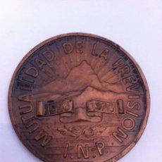 Medallas temáticas: MEDALLA DE COBRE.59 ANIVERSARIO.MUTUALUDAD DE LA PREVISIÓN.INP 1926/1976. Lote 57070854