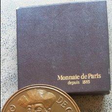 Medallas temáticas: MEDALLA BRONCE VASCO DE GAMA. 81 MM. 250 GR. MONNAIE DE PARIS ( DEPUIS 1585). EXCELENTE ESTADO. Lote 57546664