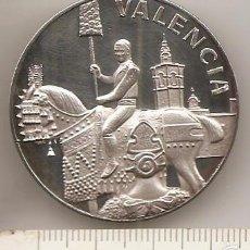 Medallas temáticas: VALENCIA. MEDALLA DE PLATA. Lote 57663957