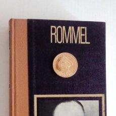 Thematic medals - LOTE MONEDA DE BRONZE CHAPADA CON ORO ALEMANIA Y LIBRO DEL GENERAL FELDMARSCHALL ERWIN ROMMEL - 57676366