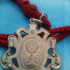Medallas temáticas: MEDALLA CON CORDÓN DE LA HERMAMNDAD DE SAN GONZALO SEMANA SANTA DE SEVILLA. Lote 57755210