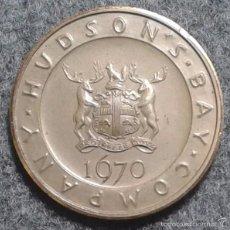 Medallas temáticas: MEDALLA EXTRANJERA 1970. COBRE DORADO 45 MM TEMA NÁUTICO, MARÍTIMO, BARCO, BARCOS. Lote 57826286