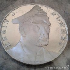 Medallas temáticas: MONEDA PLATA MARISCAL DE CAMPO ERWIN J.ROMMEL ALEMANIA NAZI WWII 1939-1945 GERMANY MEDAL AFRIKAKORPS. Lote 103270698