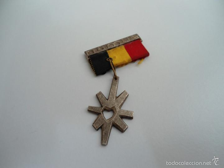 MEDALLA INMACULADA CONCEPCION - NAMUR - BELGICA - CON CINTA - ORIGINAL (Numismática - Medallería - Temática)