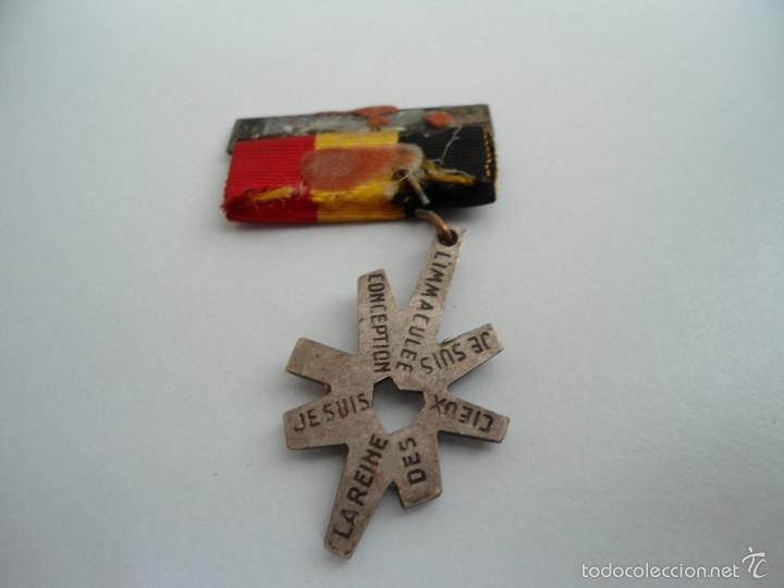 Medallas temáticas: MEDALLA INMACULADA CONCEPCION - NAMUR - BELGICA - CON CINTA - ORIGINAL - Foto 5 - 57958043