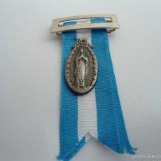 Medallas temáticas: MEDALLA HOSPITALIDAD VIZCAINA - NUESTRA SEÑORA DE LOURDES - CON CINTA - ORIGINAL. Lote 57958194